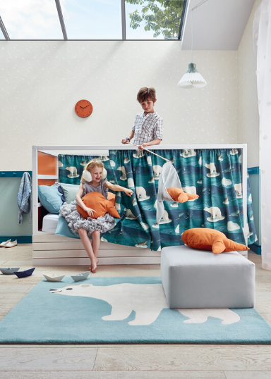 Carpets and rugs for the kids room