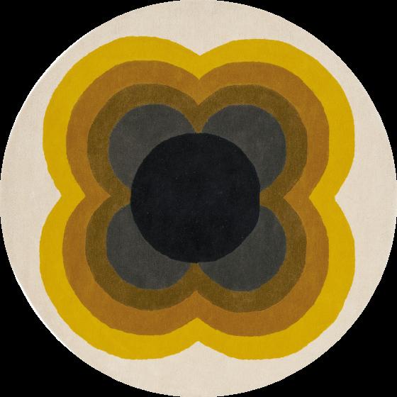Orla Kiely | Sunflower Yellow 06006 | Tapijt | Online tapijten