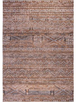 Antiquarian - Kilim Agdal Brown • Online Tapijten