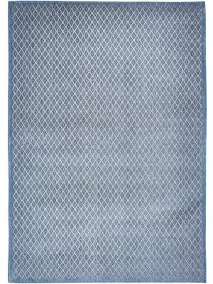 Splendore di Venezia - Rombo Blu Grigio • Online Tapijten