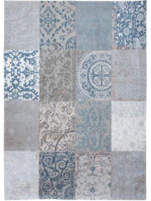 Vintage Multi Bruges Blue • Online Tapijten