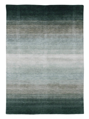 Panorama Green Grey • Tapis en Ligne