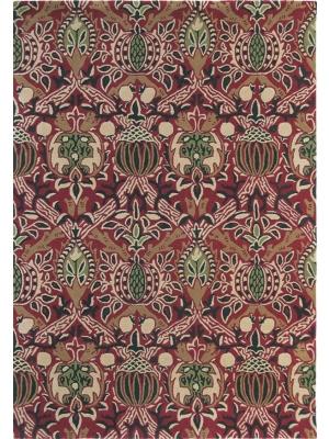 Granada Rood / Zwart • Online Tapijten