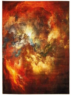 Le Reve Red multicolor • Online Tapijten
