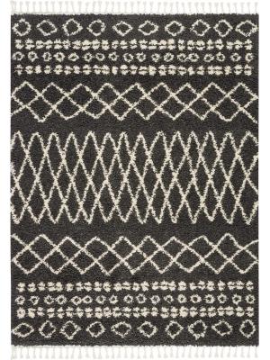 Moroccan Shag Charcoal • Online Tapijten