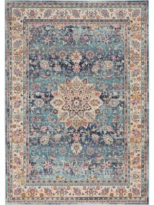 Vintage Kashan Blue • Online Tapijten