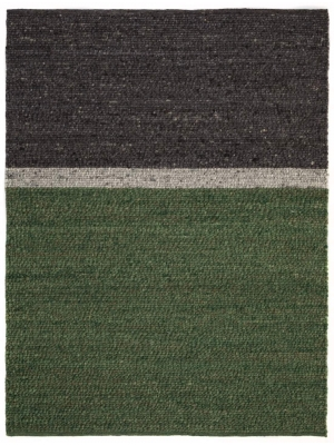 Gravel Stripes Green grey • Online Tapijten