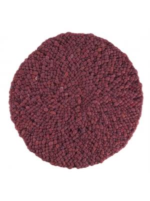 Roundabout fine Donker Fuchsia • Online Tapijten