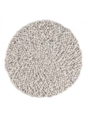 Roundabout fine White/Grey • Online Tapijten