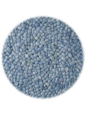 Roundabout Pastel Blauw • Online Tapijten