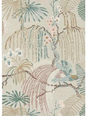 Rain Forest Orchid Grey • Online Tapijten