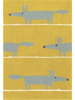 Mr Fox Mustard • Online Tapijten