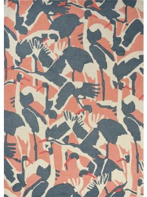 Cranes Pink • Tapis en Ligne