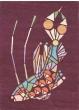 Emerging Fish Burgundy 160500