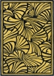 Florence Broadhurst   Japanese Fans Gold 039305   Tapijt   Online tapijten