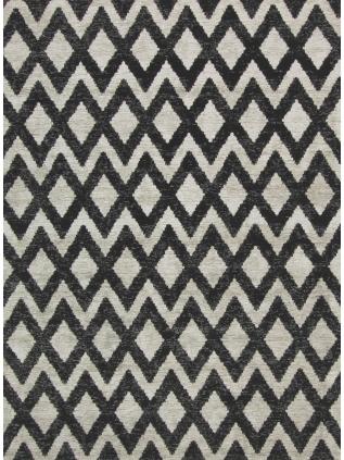 Geometrics Rombu beige - black • Online Tapijten