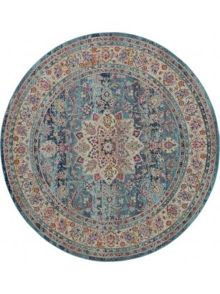 Vintage Kashan R. Blue • Teppiche Online