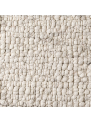 Boulder Weiss/Grau • Teppiche Online