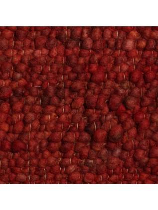 Pebbles Warm Rood • Online Tapijten