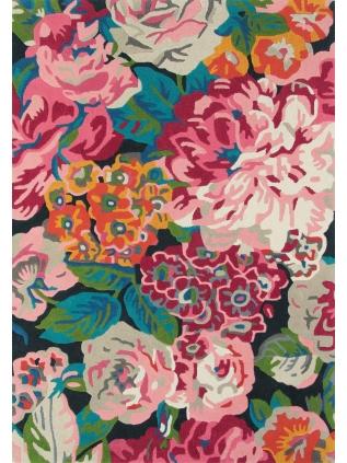 Rose & Peony Cerise • Online Tapijten