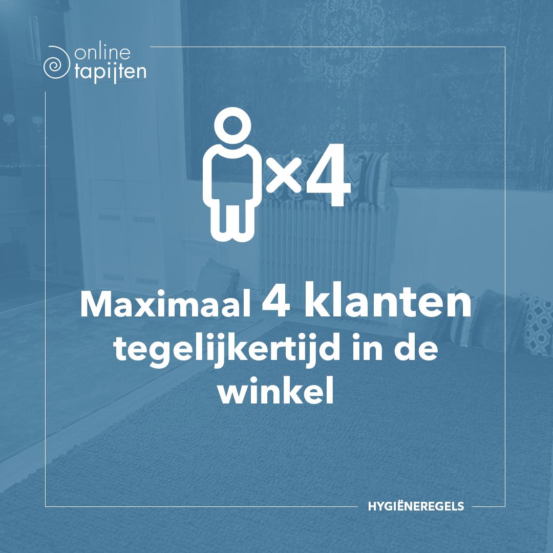 Max 4 people